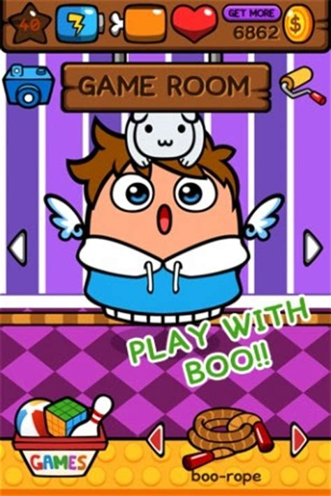 In My World My Boo  O Clone De Pou