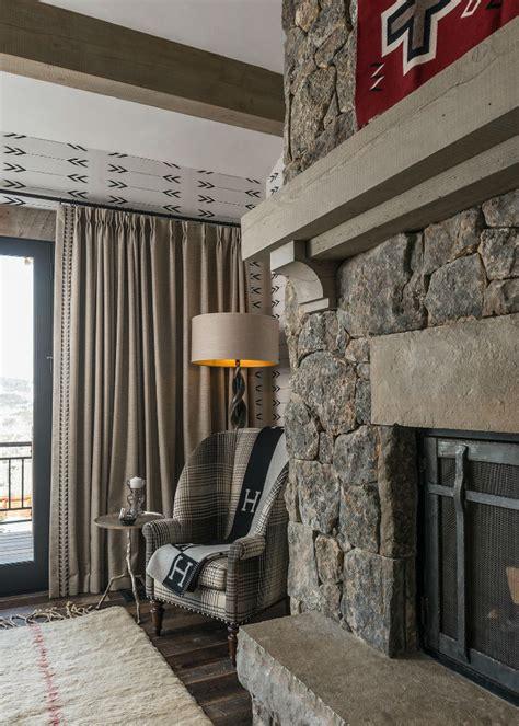 Log Cabin Style Meets Ethnic Modern Interior Design by Log Cabin Style Meets Ethnic And Modern Interior Design