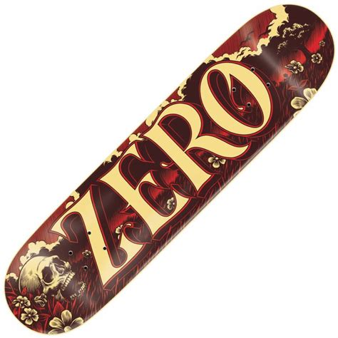Zero Skateboard Decks by Zero Skateboards Zero Valley Skateboard Deck 8 0