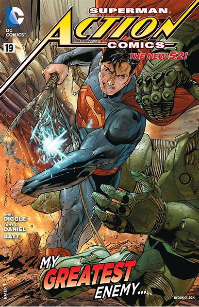 Action Comics Dc Vol Covers Textless Wikia