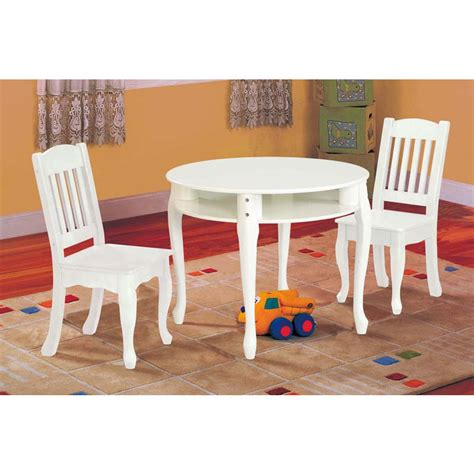 windsor table and chairs children 39 s windsor round table and chair set white baby