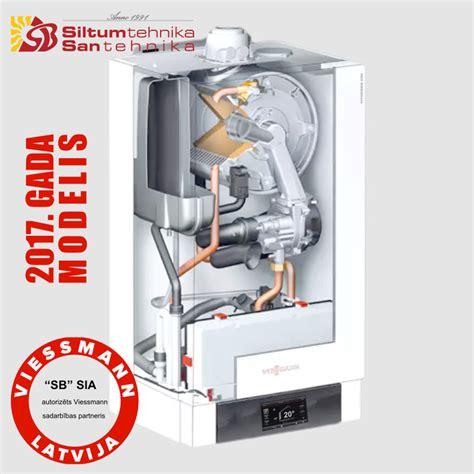 Gāzes kondensācijas apkures katli- Viessmann Vitodens 200-W (13-60kw) B2HB + Vitotronic 200 ...