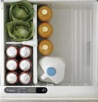 ge monogram zidshss   stainless steel compact refrigerator   cuft capacity