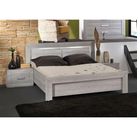 lit avec rangement integre 160x200