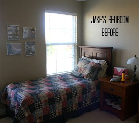 tiny bedroom makeover my son s small bedroom makeover final reveal 13531 | Jakes Small Bedroom BEFORE Shiplap Makeover4