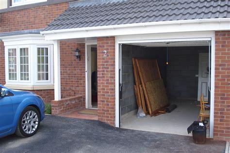 garage conversion photographs  living