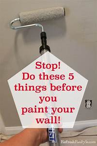 How to prep walls before painting refresh restyle for Cleaning bathroom walls before painting