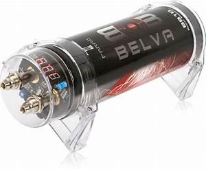 Belva Bb1d 1 0 Farad Car Audio Power Capacitor  Cap W