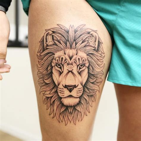 Lion Tattoo Cute