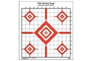 90020 Enforcement Targets Coupon by Enforcement Targets Si 13 Rifle Sighting Target 14x15