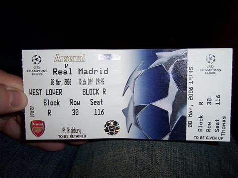 Real Madrid Matches Tickets
