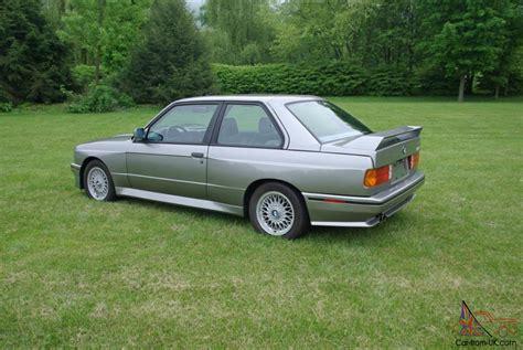 89 Bmw M3 by 89 1989 Bmw E30 M3 50 548 Original Excellent