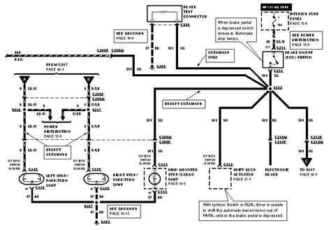 Need Diagram Brake Light Switch Ford Truck