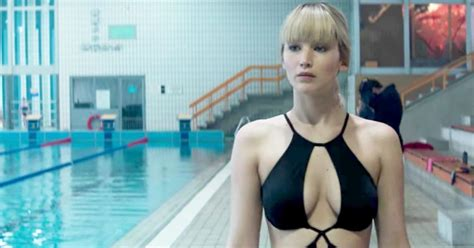 Jennifer Lawrences Sexy Nude Scenes In Red Sparrow Made