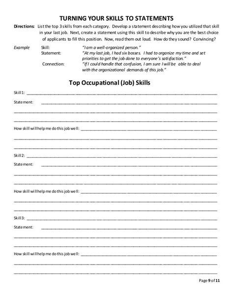 Job Readiness Worksheets Worksheets Releaseboard Free Printable Worksheets And Activities
