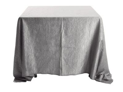 90 x 90 square tablecloth 90 quot x 90 quot square crinkle taffeta tablecloth 7389