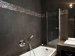 carrelage salle de bain avec frise mosaique carrelage With photo salle de bain mosaique