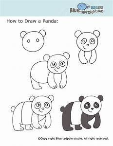 Learn To Draw For Kids, Panda Crafts For Kids, Kids ...
