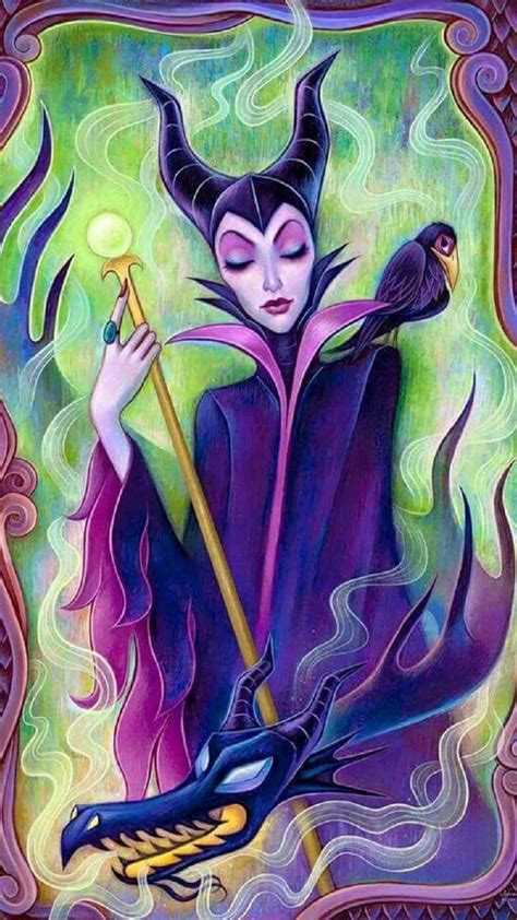 Purple Maleficent Wallpapers - Wallpaper Cave