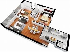 Interior design planos de departamentos gratis de 3 for Interior decorator plano