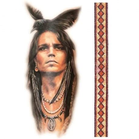 tatoo temporaire idien corbeau