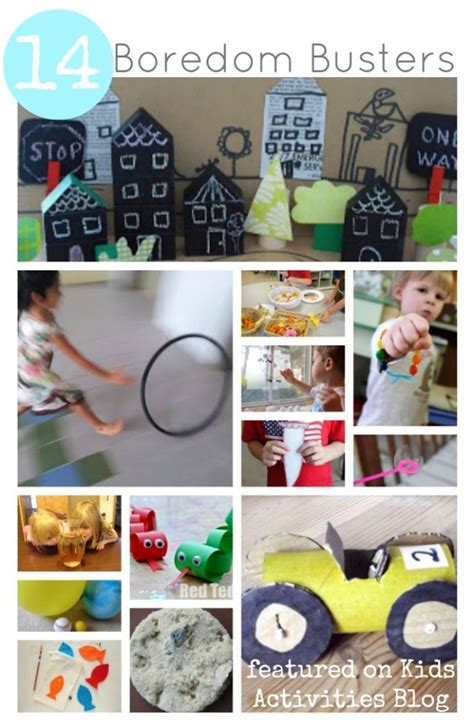 BOREDOM BUSTERS FOR KIDS Kids Activities The Parent