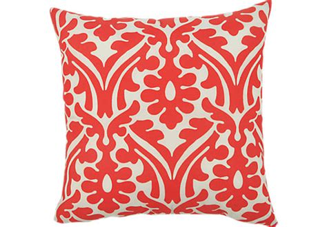 coral outdoor pillow hollie coral outdoor 17 quot accent pillows set of 2
