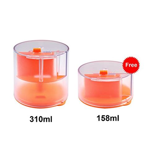 Aquarium Vacation Feeder by Automatic Fish Feeder 310ml Large Capacity Vacation Fish