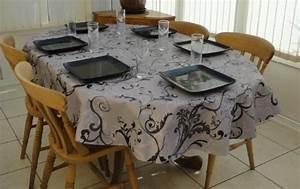 Nappe Ovale Grande Taille : jardin nappes trouver des produits the tablecloth company sur hypershop ~ Teatrodelosmanantiales.com Idées de Décoration