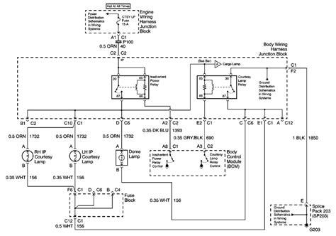 68 Camaro Dome Light Wiring Diagram by 2000 Gmc Truck Safari Awd 4 3l Fi Ohv 6cyl Repair