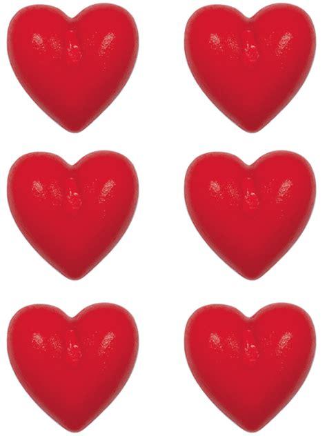 candele piccole 6 piccole candele a forma di cuore su vegaooparty negozio
