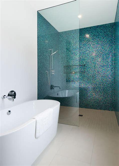 Piastrelle Bagno A Mosaico Bagno Con Pavimenti E Rivestimenti In Mosaico 100 Idee
