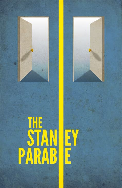 stanley parable poster rnd  closed board stanley