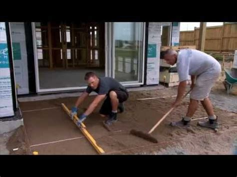Firth Industries  How To Lay Pavers  Youtube