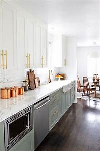 7 ways to decorate with mixed metals in your home With kitchen cabinet trends 2018 combined with gold candle holder centerpieces