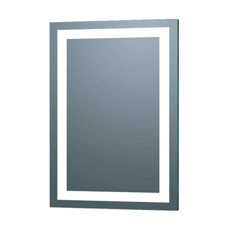 afina 20 quot x 30 quot lighted led wall mount mirror silver il