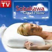 sobakawa cloud pillow sobakawa cloud stay cool buckwheat pillows infomercial