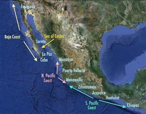 Mexico Destinations - Pacific Mexico cruising ports