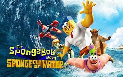Spongebob Sponge Water Movies Beach Film Squarepants