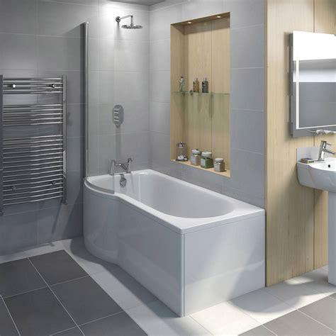 bathroom shower evesham shower bath screen victoriaplum com