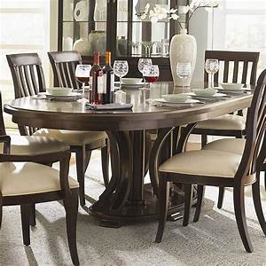 oval dining room table set peenmediacom With formal oval dining room sets