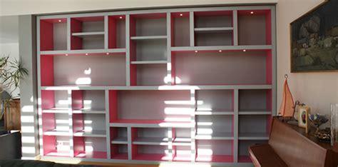 portes placards cuisine photos de réalisation de bibliothèque villa courtois