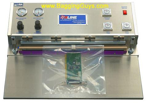 elvis entry level vacuum sealers jaw impulse vacuum sealer offered   baggingguys www