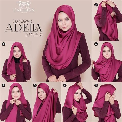 tutorial hijab pashmina  segala aktivitas