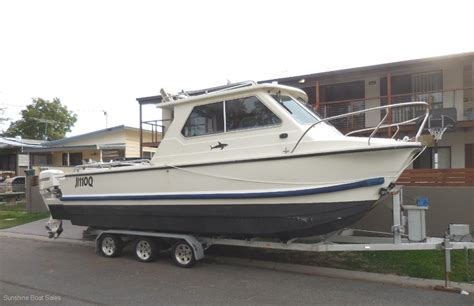 Used Boat For Sale Qld by Shark Cat 700 Trailer Boats Boats For Sale