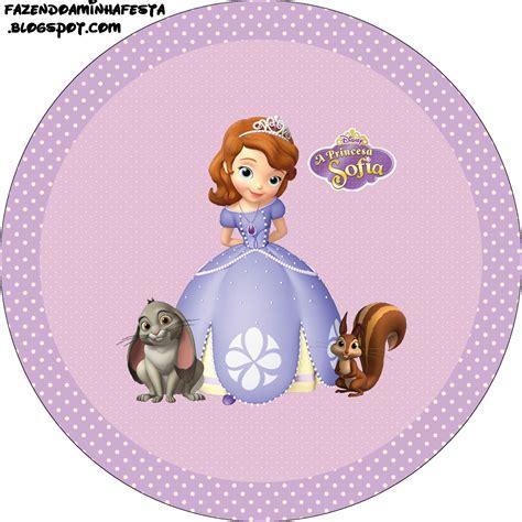 Princesinha Sofia da Disney Kit Completo com molduras