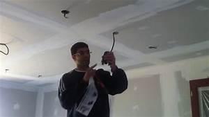 Spot Led Encastrable Plafond Faible Hauteur : tuto comment poser une r hausse pour spots encastrer ~ Edinachiropracticcenter.com Idées de Décoration