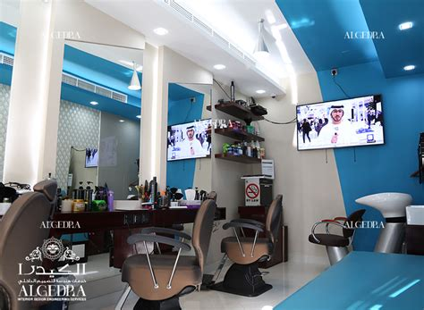 gents salon  dubai marina algedra shop interior design