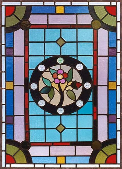william morris fan club   elegant stained glass