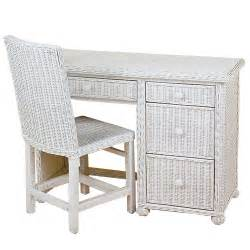 wicker desk with chair keyboard drawer white kids